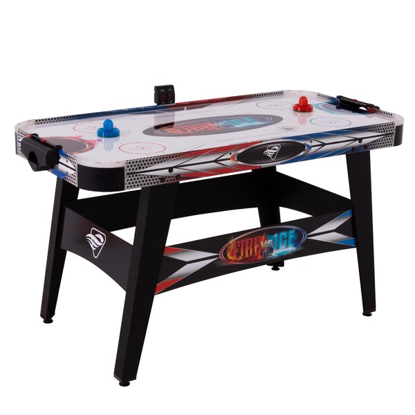Triumph 55.5 Fire 'n Ice LED Light-Up Air Hockey Table by Viva Sol