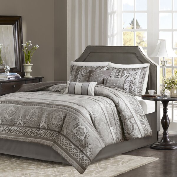 Bartle Jacquard 7 Piece Comforter Set by Astoria Grand