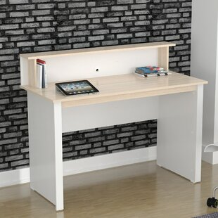 Compare Bowley Writing Desk with Hutch by Latitude Run