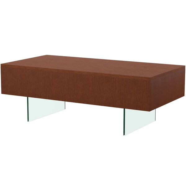 Mcculloch Sled Coffee Table with Storage by Mercury Row Mercury Row