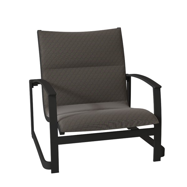 MainSail Padded Sling Sand Patio Chair by Tropitone