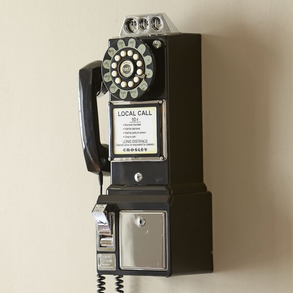 Vintage Pay Phone by Birch Lane™