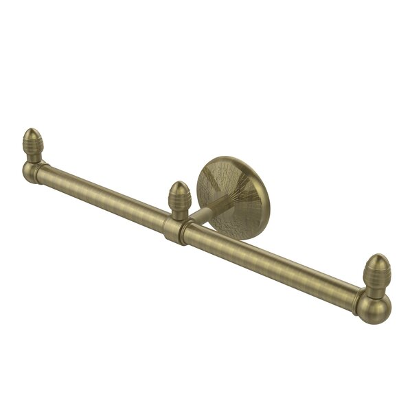 Monte Carlo 2 Arm Guest Wall Mounted Towel Bar by Allied Brass