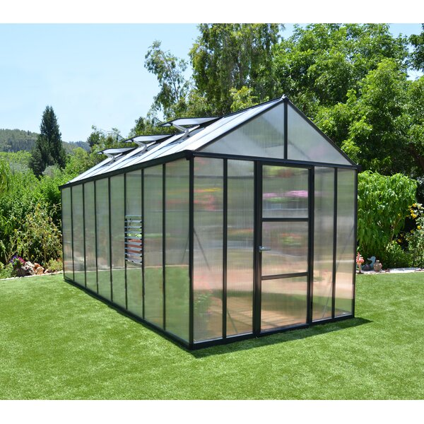 Glory 8 Ft. W x 16 Ft. D Greenhouse by Palram