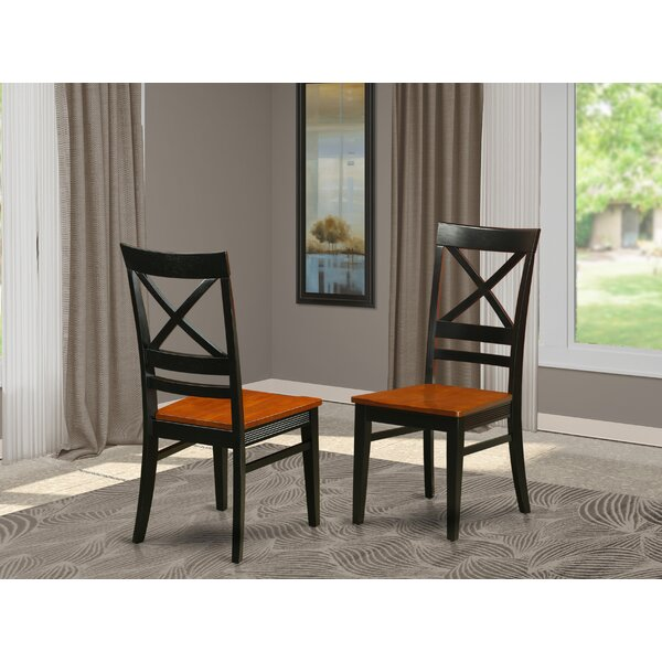 Loraine Solid Wood Dining Chair (Set Of 2) By Red Barrel Studio