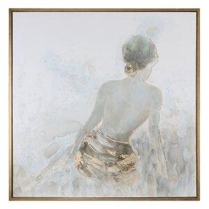 'Highlights Feminine' Framed Painting Print by Rosdorf Park