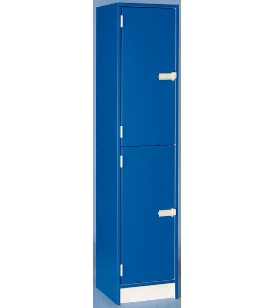 @ 2 Tier 1 Wide School Locker by Stevens ID Systems| #$626.00!