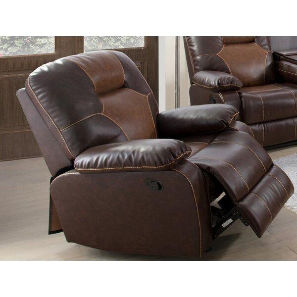 Villanova Faux Leather Manual Lift Assist Recliner W003217232