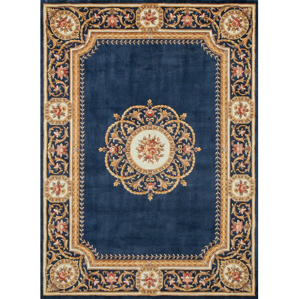 Laurel Hand-Tufted Wool Blue Area Rug by Astoria Grand