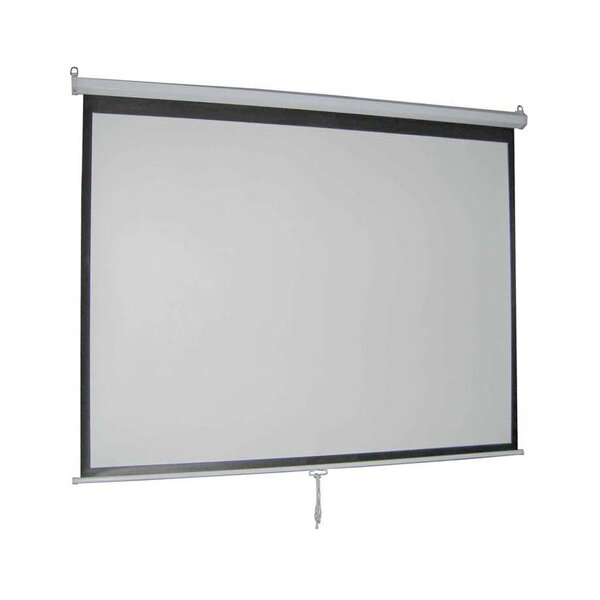 Matte White 119 diagonal Manual Projection Screen by Vivo