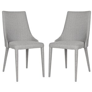 sherwood upholstered dining chair set of 2