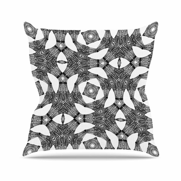 Laura Nicholson Twiggy Boxes Geometric Outdoor Throw Pillow by East Urban Home