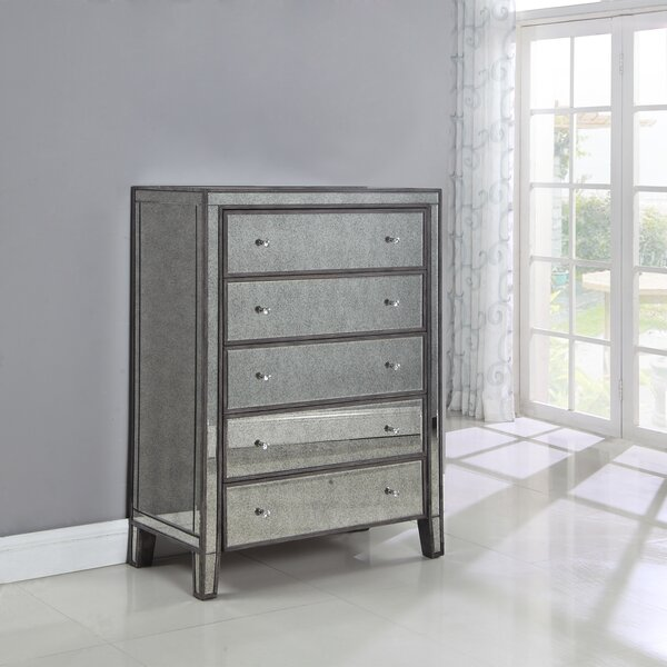 Maron 5 Drawer Chest by Rosdorf Park