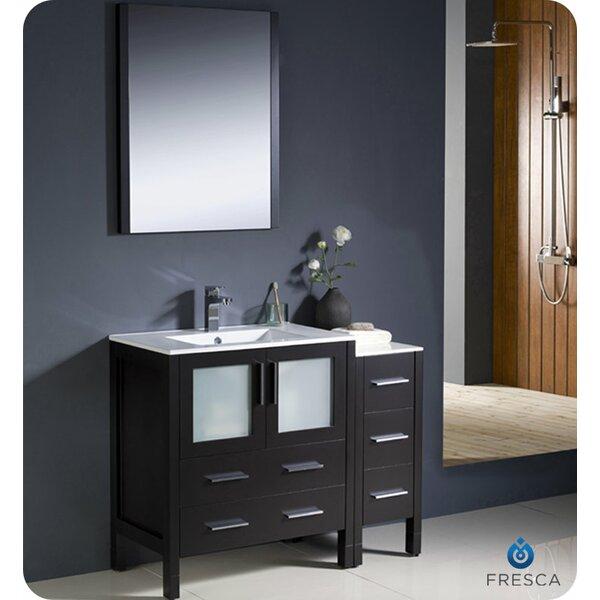 Torino 42 Single Bathroom Vanity Set with Mirror by Fresca