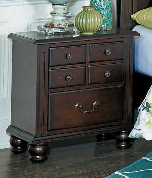 Bambi Wodden 5 Drawer Nightstand by Darby Home Co Darby Home Co
