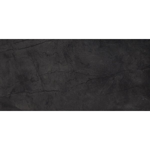 Citadel 24 x 35 Porcelain Field Tile in Black by Emser Tile