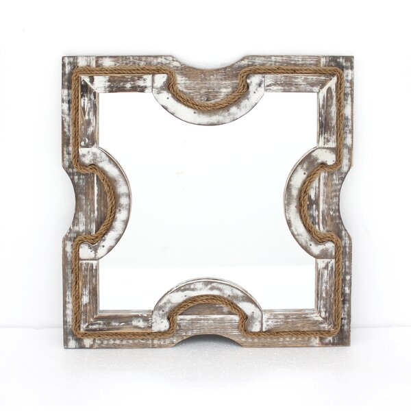 Wood Wall Mirror (Set of 2) by Teton Home