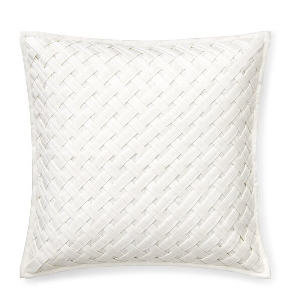 Jensen Twill Cotton Throw Pillow by Lauren Ralph Lauren
