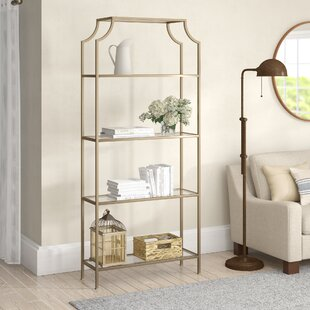 buchanan etagere bookcase - Gold Bookshelves