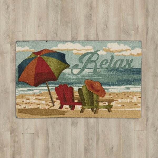 Ines Relax Area Rug by Highland Dunes
