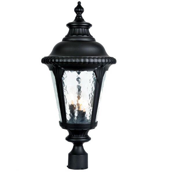 Appel Outdoor 3-Light Cast Aluminum Lantern Head by Astoria Grand