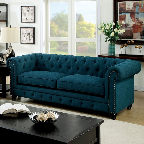 Lindstrom Chesterfield Sofa by Darby Home Co