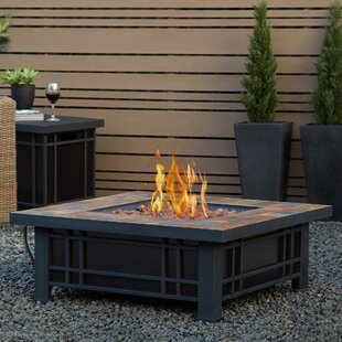 Best Price Real Flame Morrison Steel Propane Fire Pit Table By Real Flame