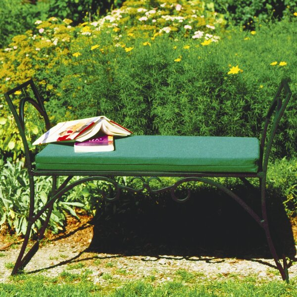 Arona Wrought Iron Garden Bench by August Grove August Grove