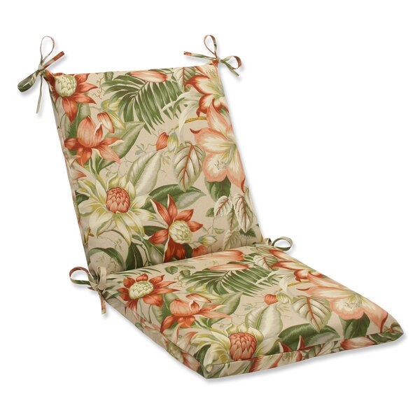 Botanical Glow Indoor/Outdoor Lounge Chair Cushion by Pillow Perfect