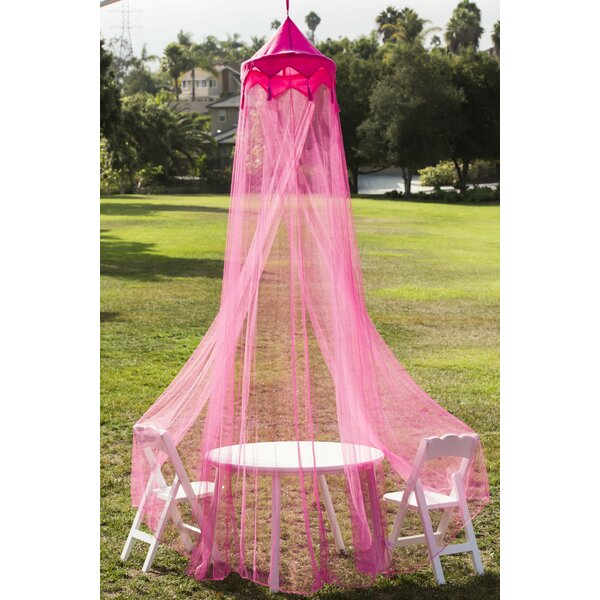 Eton Princess Play Tent and Bed Canopy by Zoomie Kids