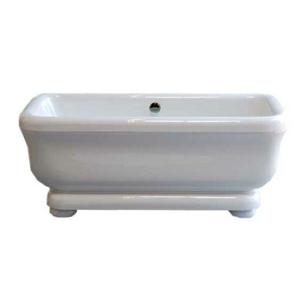 Windemere 70 x 34 Freestanding Soaking Bathtub by Strom Plumbing by Sign of the Crab
