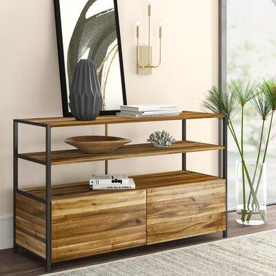 "Mercury Row Ligon 49"" Wide 2 Drawer Acacia Wood Serverr"
