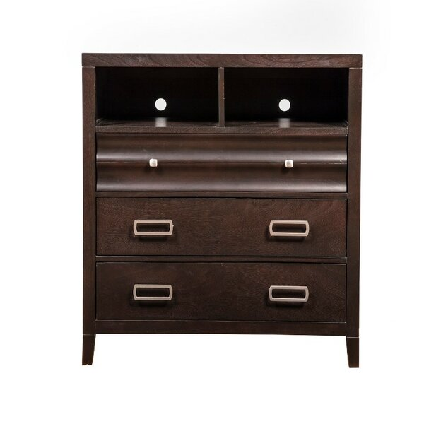 Betterton Wooden TV 3 Drawer Media Chest By Brayden Studio