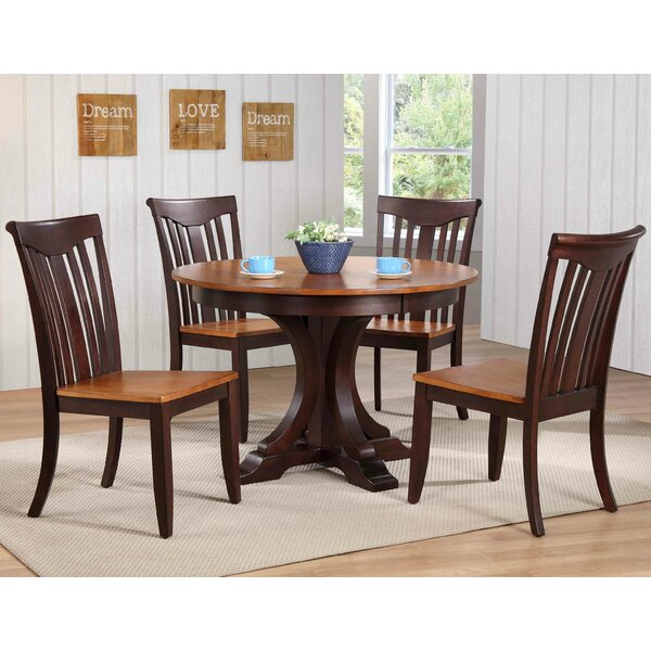 Best #1 Alisha 5 Piece Dining Set By Alcott Hill Cool