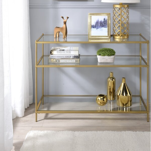 Aloysius 3 Tiered Console Table By Willa Arlo Interiors