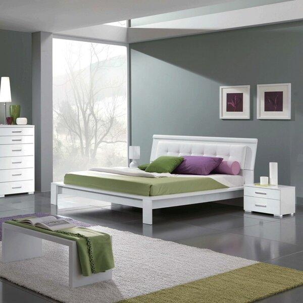 Upholstered Platform Bed by Noci Design