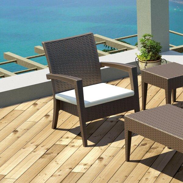 Kassiopeia Miami Resin Club Chair (Set of 2) by Mercury Row