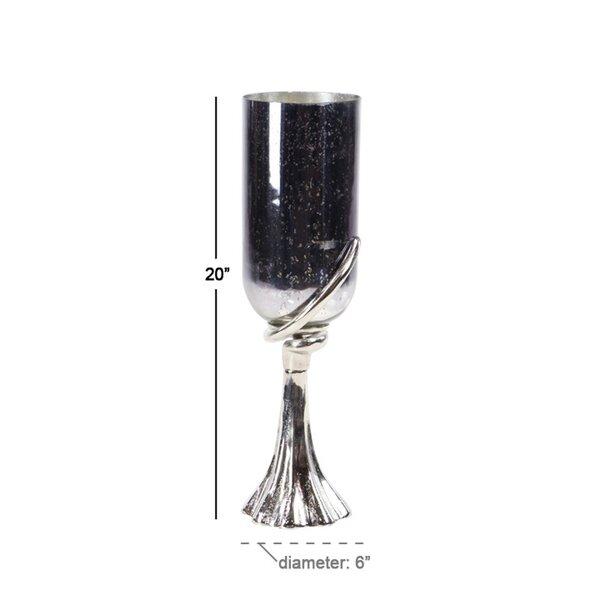 Modern Glass Hurricane by Orren Ellis