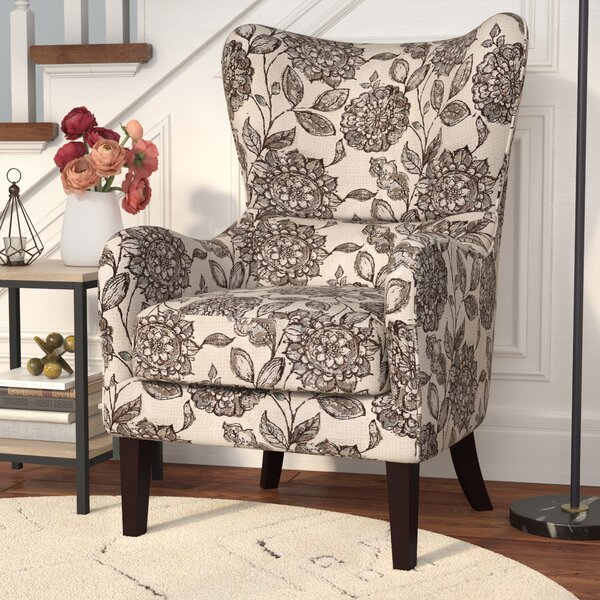 Oday Wingback Chair By Alcott Hill