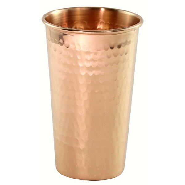 Akron Hammered Copper 20 oz. Beer Tumbler by Bloomsbury Market
