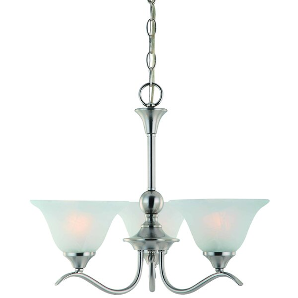 Schuh 3 - Light Shaded Classic / Traditional Chandelier By Charlton Home