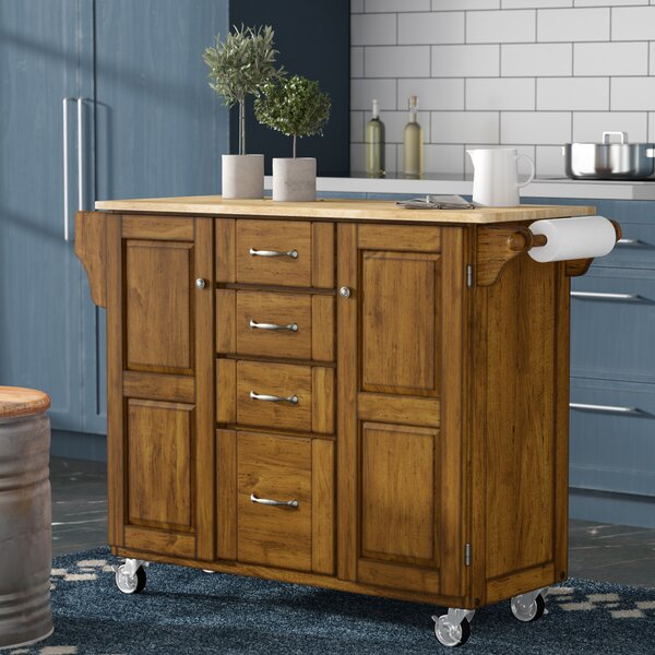 Stroman-a-Cart Kitchen Island by August Grove