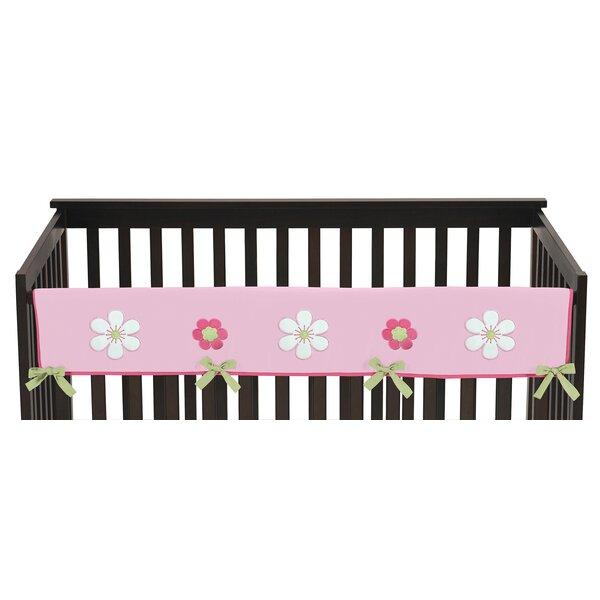 Flower Long Crib Rail Guard Cover by Sweet Jojo Designs