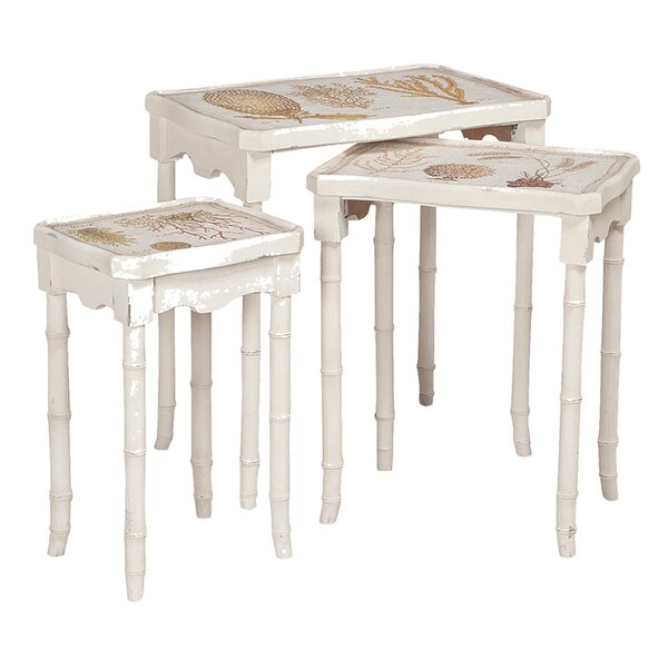 Caledonia 3 Piece Nesting Tables by Bay Isle Home