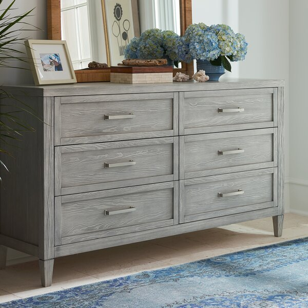 Annalee Small Spaces 6 Drawer Double Dresser by Gracie Oaks