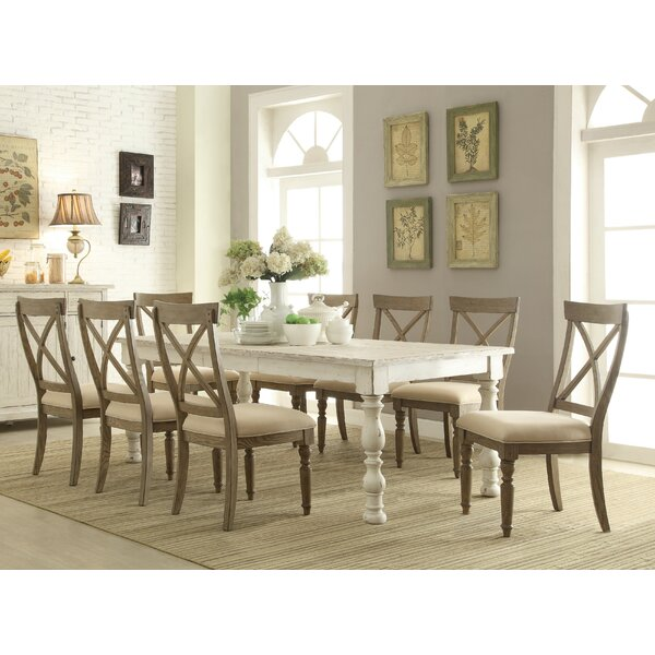 Mckenzie 9 Piece Extendable Dining Set by August Grove
