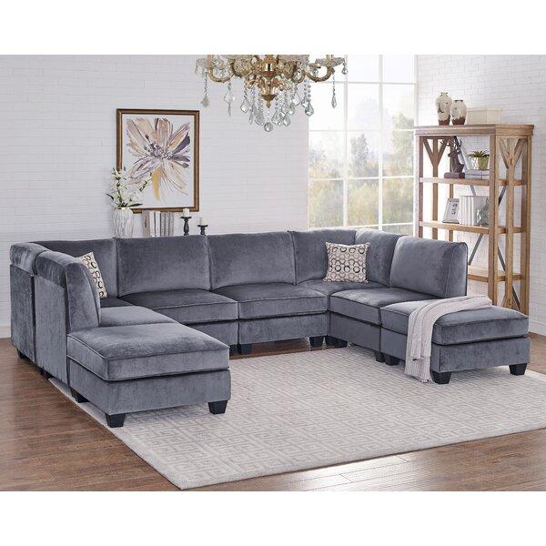 Eula Modular Velvet Sofa Set by Ivy Bronx