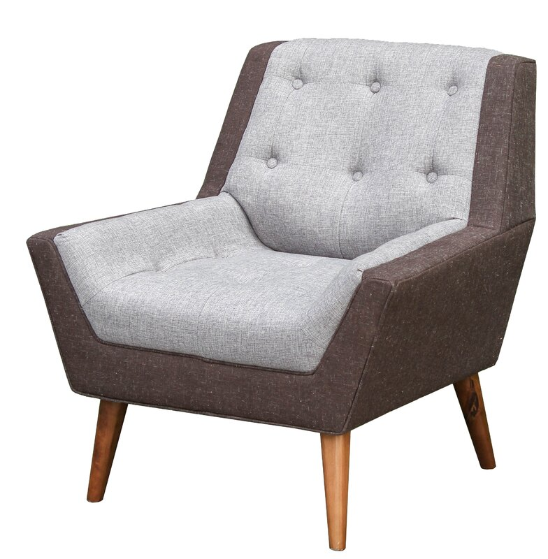 George Oliver Highgate Mid Century Modern Living Room Arm Chair ...