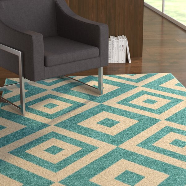 Alexander Blue Area Rug by Latitude Run
