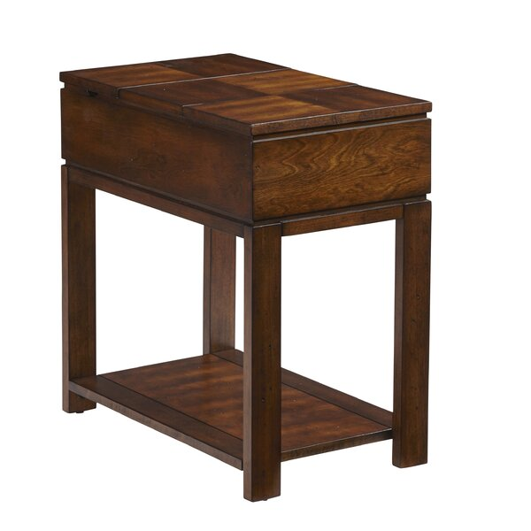 Haskin End Table by Alcott Hill